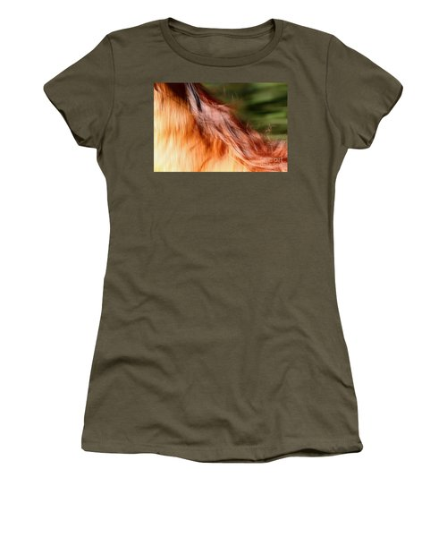 Blazing Fast Women's T-Shirt (Junior Cut) by Michelle Twohig