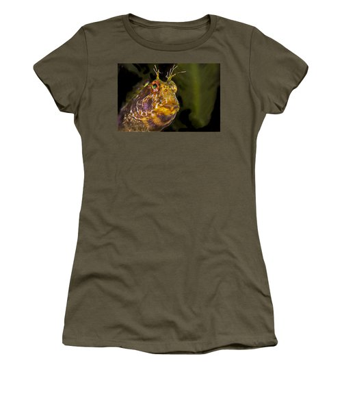 Blenny In Deep Thought Women's T-Shirt