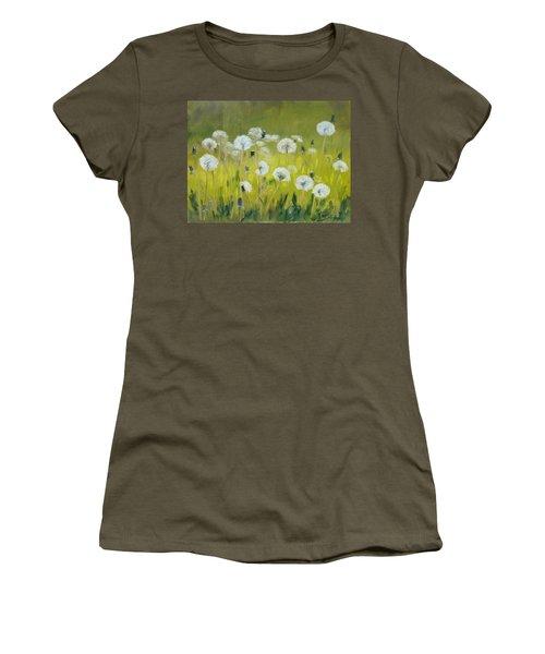 Blow Balls Women's T-Shirt (Junior Cut) by Irek Szelag