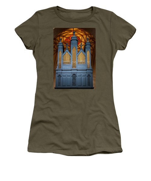 Blue And Gold Music Women's T-Shirt
