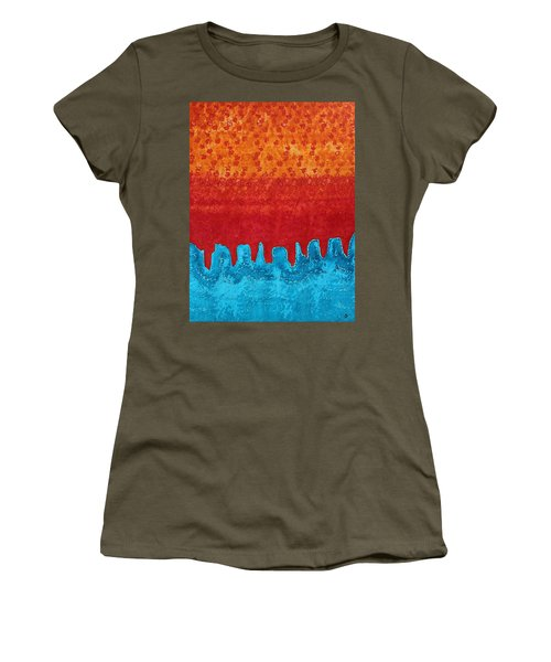Blue Canyon Original Painting Women's T-Shirt