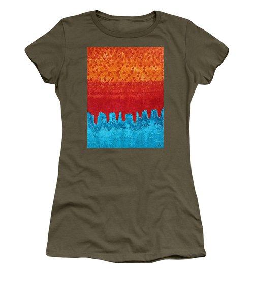 Blue Canyon Original Painting Women's T-Shirt