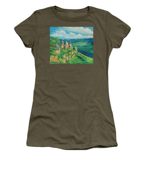 Blue Mountains Australia Women's T-Shirt