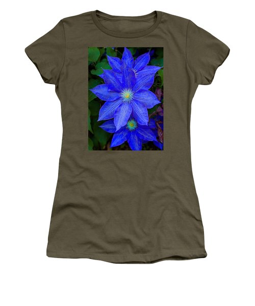 Blue On Blue Women's T-Shirt