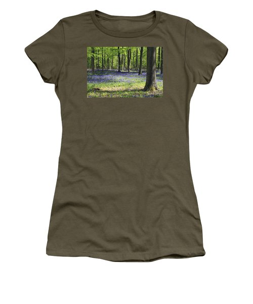 Bluebell Wood Uk Women's T-Shirt