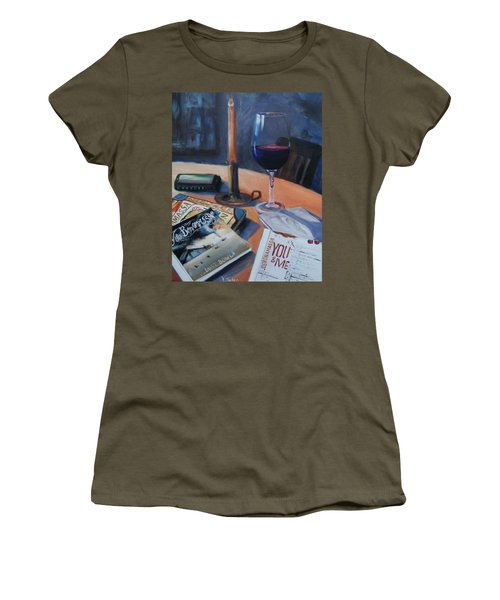 Blues And Wine Women's T-Shirt
