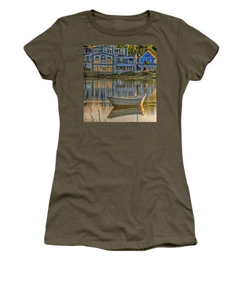 Boat In Late Afternoon Women's T-Shirt