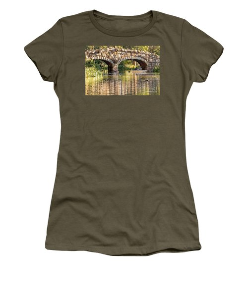 Boaters Under The Bridge Women's T-Shirt
