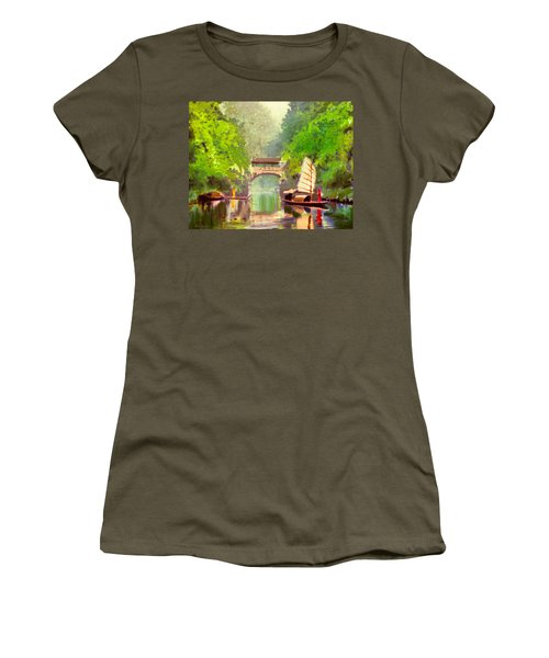 Boatmen Women's T-Shirt (Athletic Fit)