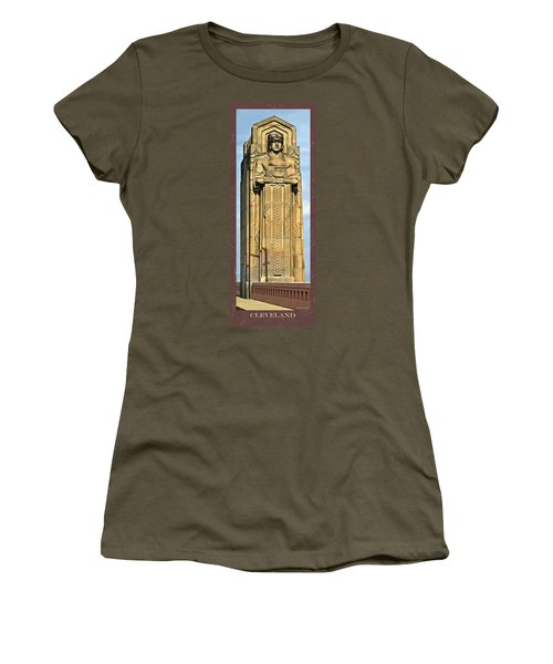 Bob Hope Memorial Bridge Women's T-Shirt (Athletic Fit)