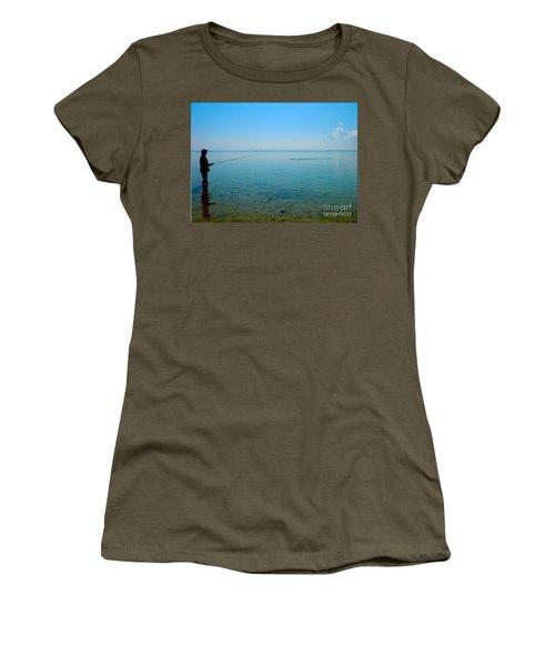 Bonefish Stalk  Women's T-Shirt