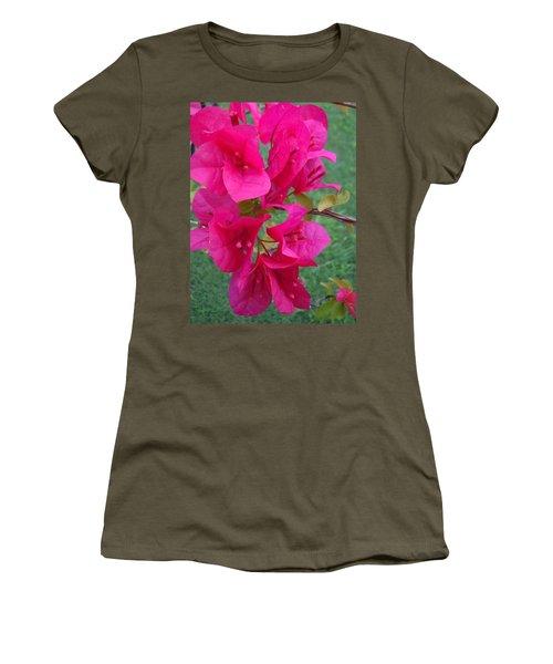Bougainvillea Dream #2 Women's T-Shirt (Athletic Fit)