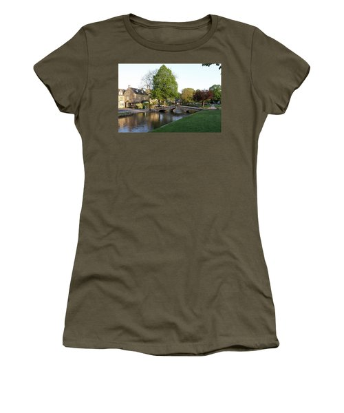 Bourton On The Water 2 Women's T-Shirt (Athletic Fit)