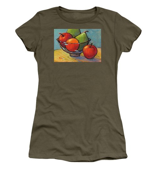 Bowl Of Fruit Women's T-Shirt