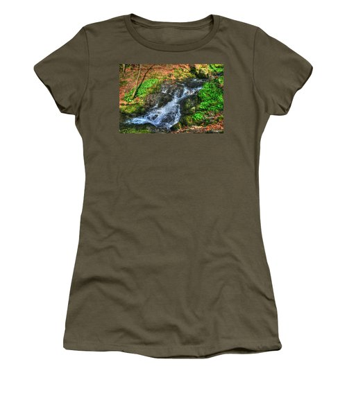 Women's T-Shirt (Junior Cut) featuring the photograph Breath Deeply by Doc Braham
