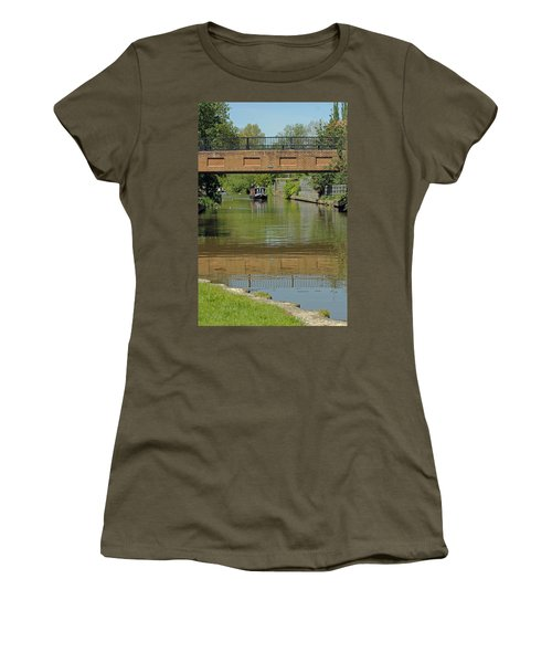 Bridge 238b Oxford Canal Women's T-Shirt (Athletic Fit)