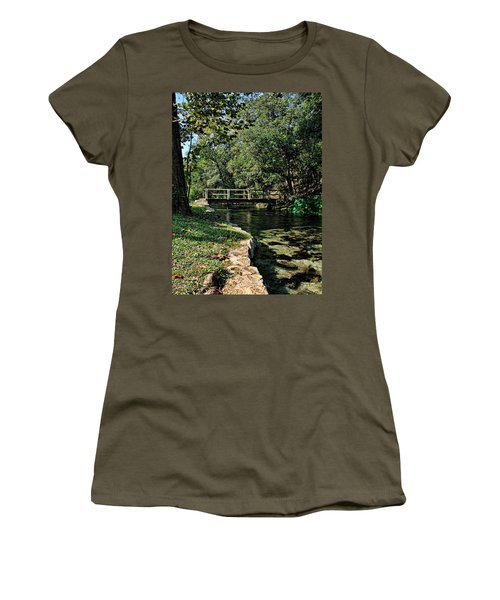 Bridge Of Serenity Women's T-Shirt (Junior Cut) by Judy Vincent
