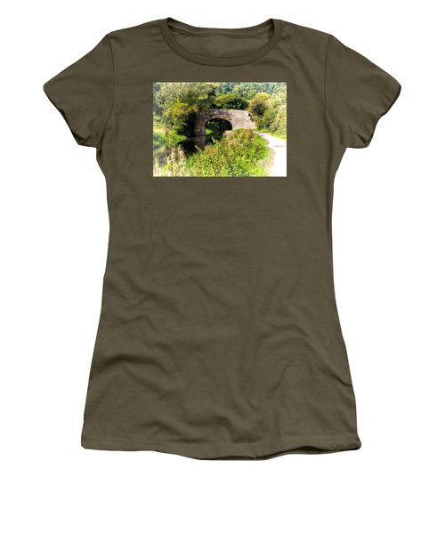Bridge Over Still Waters Women's T-Shirt
