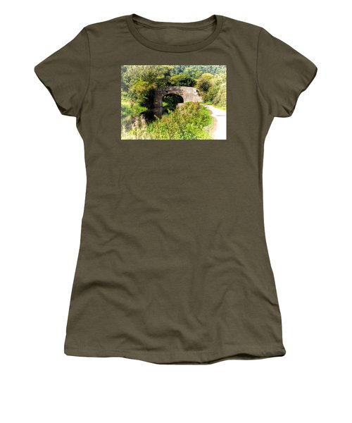 Bridge Over Still Waters Women's T-Shirt (Athletic Fit)
