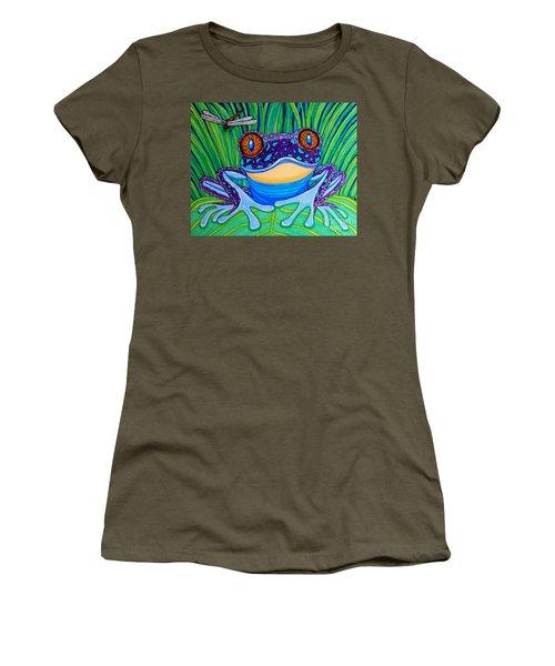 Bright Eyed Frog Women's T-Shirt