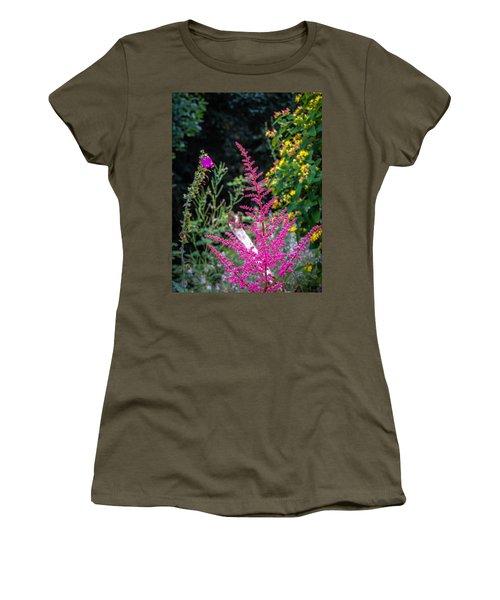 Brilliant Astilbe In Markree Castle Gardens Women's T-Shirt