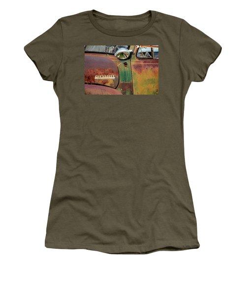 Women's T-Shirt (Junior Cut) featuring the photograph Broken Dreams by Steven Bateson