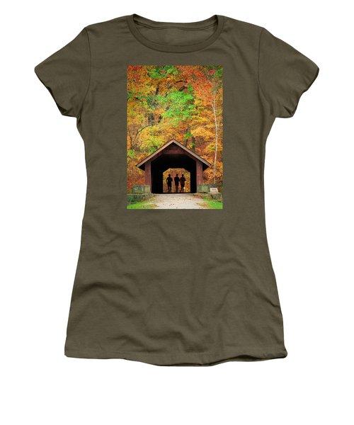 Brush Creek Covered Bridge Women's T-Shirt