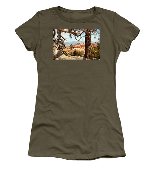 Bryce Canyon Through The Trees Women's T-Shirt