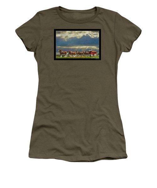Budweiser Clydesdale Paint 2 Women's T-Shirt