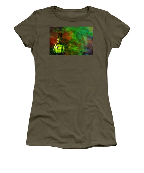 Women's T-Shirt (Junior Cut) featuring the mixed media Bugs by Ally  White