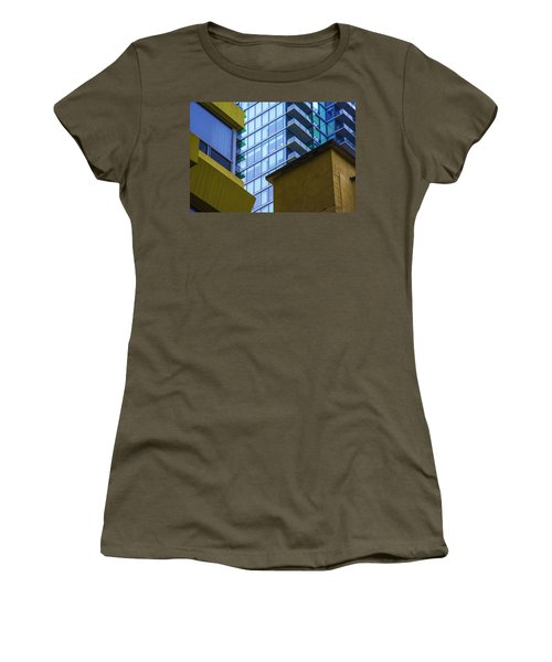 Building Abstract No.1 Women's T-Shirt (Athletic Fit)
