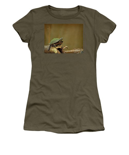 Bump On A Log Women's T-Shirt