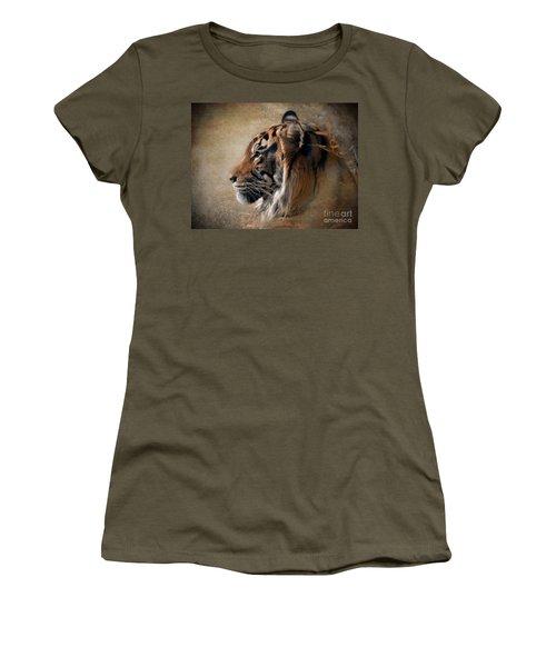 Burning Bright Women's T-Shirt (Athletic Fit)