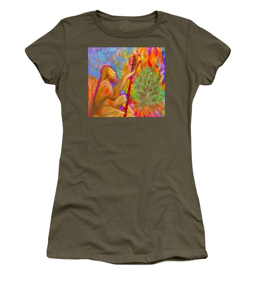 Burning Bush Of Yhwh Women's T-Shirt