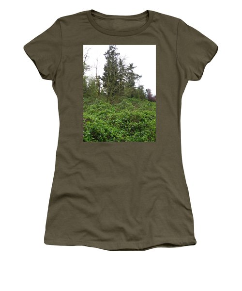 Bus Stop Greenbelt Women's T-Shirt (Athletic Fit)