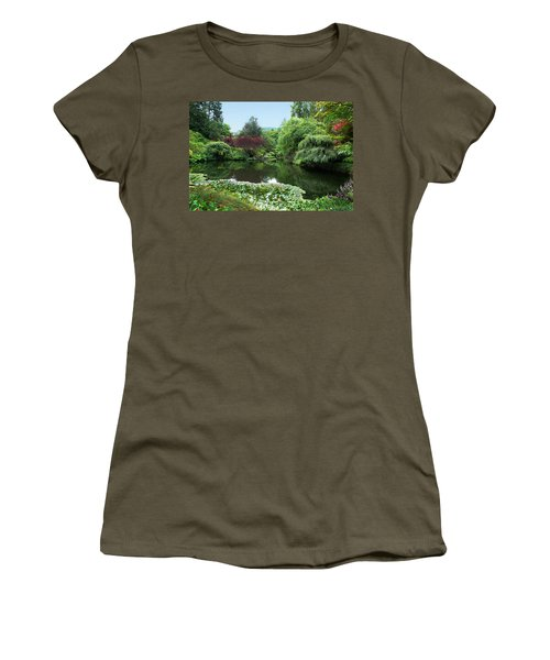 Butchart Gardens Women's T-Shirt (Athletic Fit)