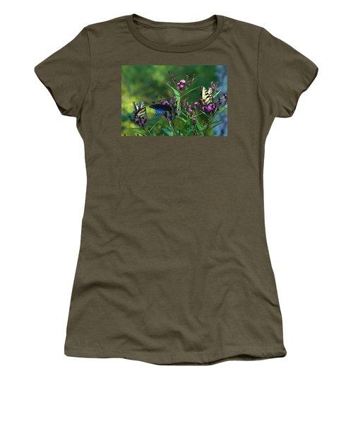 Butterflies Three Women's T-Shirt