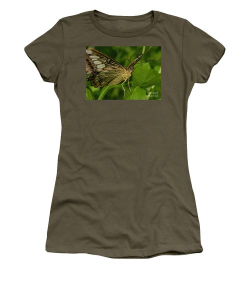 Women's T-Shirt (Junior Cut) featuring the photograph Butterfly 2 by Olga Hamilton