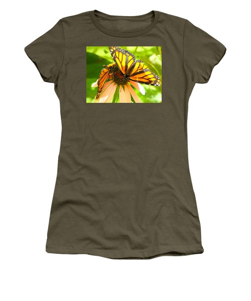 Butterfly And Friend Women's T-Shirt (Athletic Fit)