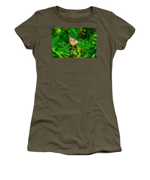 Butterfly In Paradise Women's T-Shirt