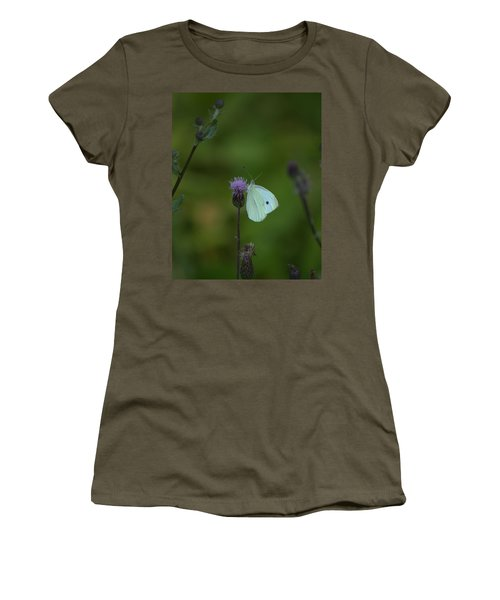 Butterfly In White 2 Women's T-Shirt