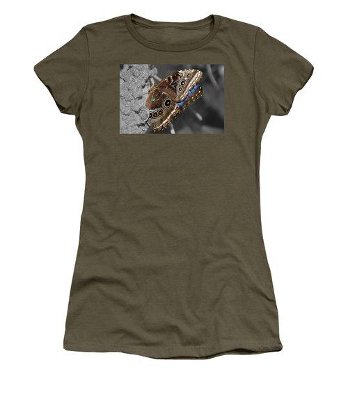 Butterfly Spot Color 1 Women's T-Shirt