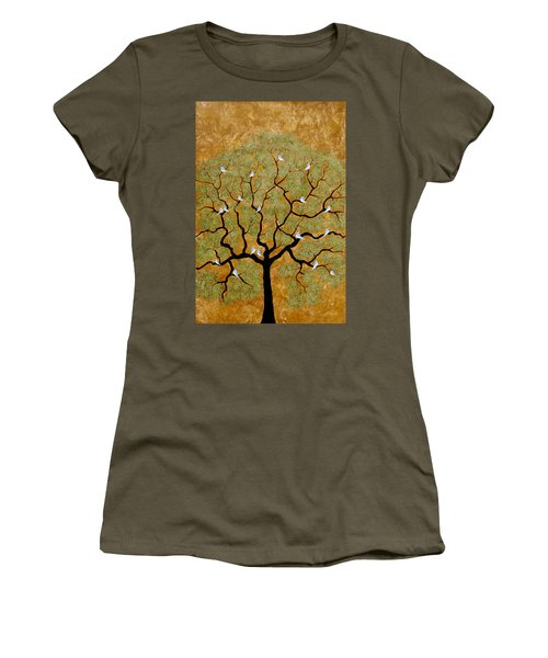 By The Tree Re-painted Women's T-Shirt