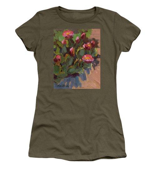 Cactus In Bloom 2 Women's T-Shirt