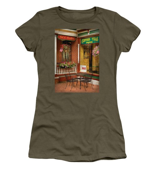 Cafe - The Best Ice Cream In Lancaster Women's T-Shirt