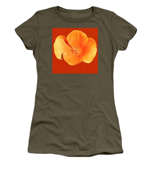 California Poppy Painting Women's T-Shirt