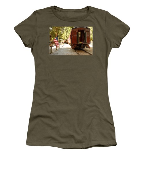 California Western Railroad Women's T-Shirt (Athletic Fit)