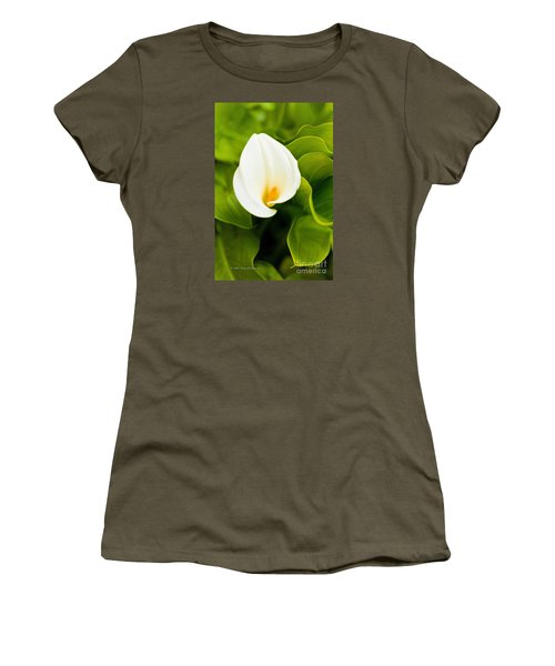 Calla Lily Plant Women's T-Shirt