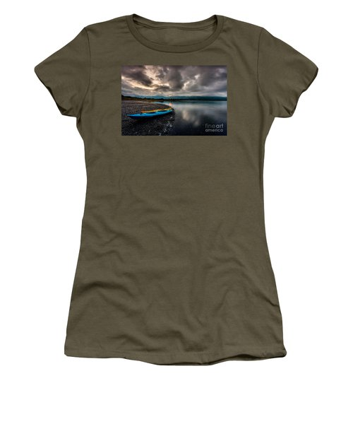 Calm Evening Women's T-Shirt (Athletic Fit)