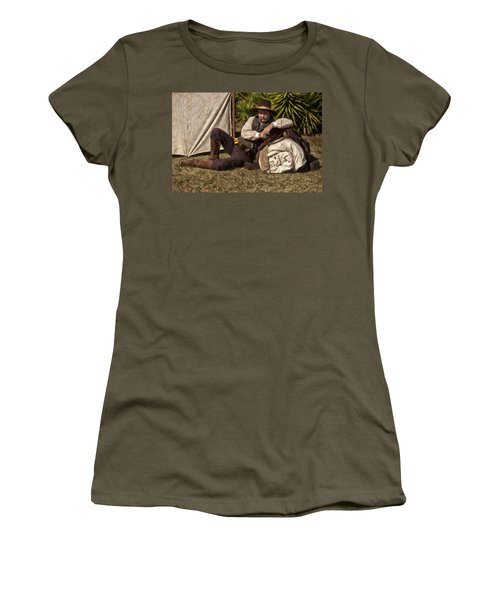 Camp Women's T-Shirt (Athletic Fit)